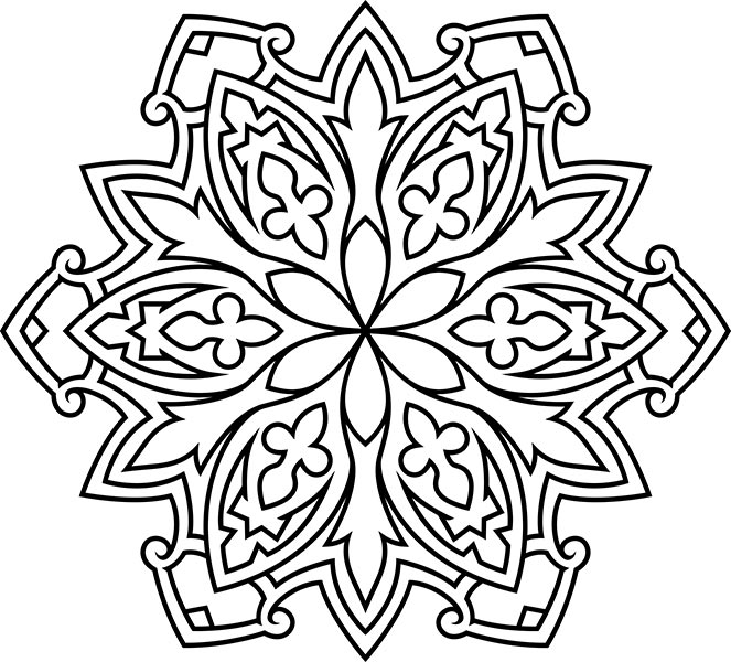 Easy_mandala_coloring_pages_8