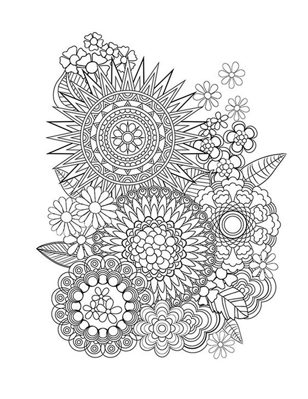 Free coloring pages of mandalas