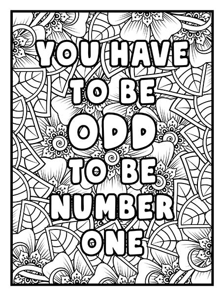You_have_to_be_odd_to_be_number_one